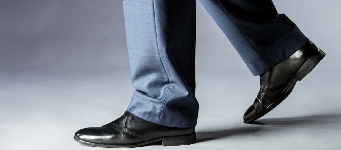 business shoes walking