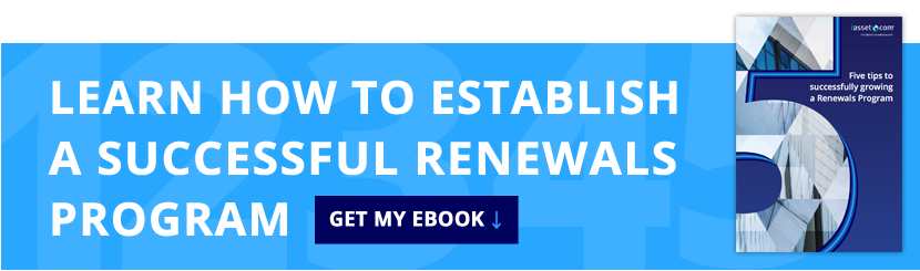 Five tips to successfully growing a Renewals Program eBook Download